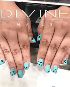Divine Nails Red Deer - Cute Kitty Cat Nails