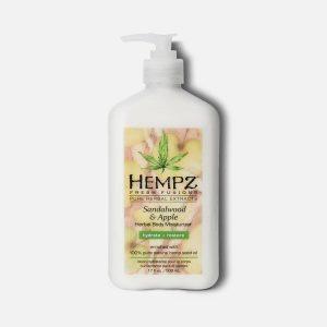 Divine Nails Red Deer - Fresh Fusions Sandalwood Apple Herbal Body Moisturizer